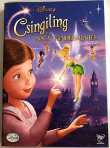 Tinker Bell and the Great Fairy Rescue DVD 2010 Csingiling és a nagy tündérmentés / Directed by Bradley Raymond / Starring: Mae Whitman, Pamela Adlon, Lauren Mote, Michael Sheen (5996255733624)