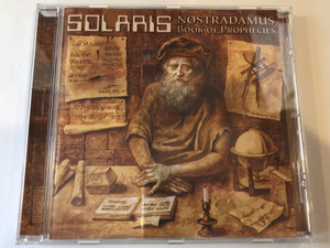 Solaris - Nostradamus Próféciák Könyve (Book Of Prophecies) / Periferic Records ‎Audio CD 1999 / BGCD 025