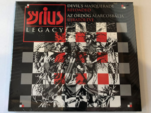 Syrius Legacy ‎– Devil's Masquerade Reloaded = Az Ordog Alarcosbalja Ujartoltve / Tom-Tom Records ‎Audio CD 2015 / TTCD 236