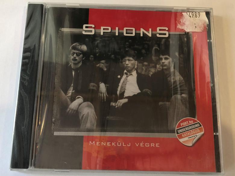 Spions – Menekülj Végre / 1G Records Audio CD 2009 / 1G2009103020-2