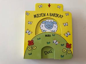 Milyen a Barika? / Illustrations by Peter Curry / Móra könyvkiadó 2018 / Babamozi-sorozat / Kicsi könyv a kicsi kézbe / Hungarian skill development book for toddlers (9789634158622)