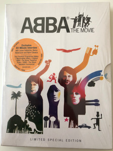 Abba - The Movie DVD 1977 Limited Special edition / Directed by Lasse Hallström / Starring: Anni-Frid Lyngstad, Benny Andersson, Björn Ulvaeus, Agnetha Fältskog / Bonus - Exclusive 40 Minute Interview (602498716991)