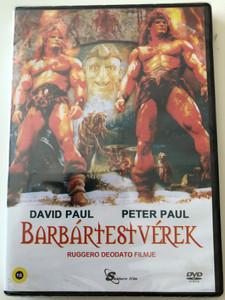 The Barbarians DVD 1987 Barbártestvérek / Directed by Ruggero Deodato / Starring: Peter Paul, David Paul (5999884099130)