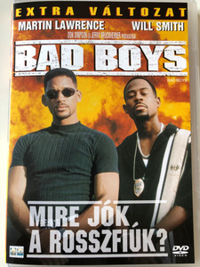Bad Boys DVD 1995 Mire jók a rosszfiúk - Extra Változat / Directed by Michael Bay / Starring: Will Smith, Martin Lawrence (5999010445497)