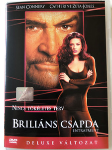 Entrapment DVD 1999 Briliáns csapda / Directed by Jon Amiel / Starring: Sean Connery, Catherine Zeta-Jones (5996255703429)