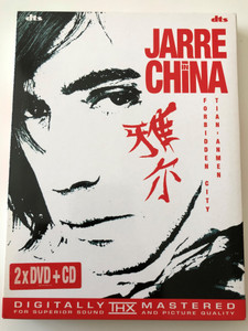 Jarre in China DVD Forbidden City - Tian'anmen / 2xDVD & CD 2004 / Jean Michel Jarre / Accompanied by 260 Musicians - Beijing Symphony Orchestra, Beijing National Orchestra, Chinese National Orchestra (5050467696020)