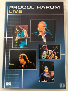 Procol Harum DVD 2002 Live / Directed by Robert Garofalo / Bringing home the Bacon, Memorial Drive, A salty dog, As Strong as Samson / Special features, Biographies, Procol Harum: Uninhibited (5060018706276)