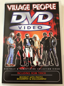Village People DVD 2002 Including Rom Track / 5.1 Remastered / Y.M.C.A, San Francisco, In the Navy, Fire Island / Scorpio music / SIAE BCH DVD 100 (8026877103325)