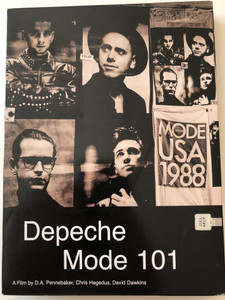 Depeche Mode 101 DVD 2003 A film by D.A. Pennebaker, Chris Hegedus, David Dawkins / 2 Discs / Disc Two: Live at the Pasadena Rose Bowl - June 18th 1988 / Master and Servant, Strangelove / Exclusive Interviews (0724349087392)