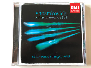 Shostakovich - String Quartets 3, 7 & 8 / St Lawrence String Quartet Audio CD 2006 Stereo / 3 59956 2