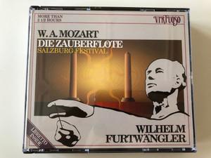 W. A. Mozart – Die Zauberflöte (Salzburg Festival) / Wilhelm Furtwängler / More Than 2 1/2 Hours / Virtuoso 3x Audio CD 1989 / 2699192