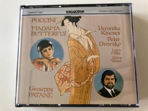 Puccini - Madama Butterfly / Giuseppe Patané / Veronika Kincses, Peter Dvorský, Lajos Miller, Klára Takács / Hungaroton 2x Audio CD 1981 Stereo / HCD 12256-57-2