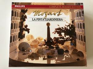 Mozart – La Finta Giardiniera ( The Pretend Garden-Girl ) Complete Mozart Edition – Vol. 33 / Philips - 3 CD Set  1991 / 422 533-2