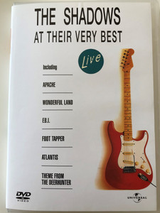 The Shadows at their very best DVD 1989 Live / Including Apache, Wonderful Land, Theme from the deerhunter / Universal Music (5050582101454)