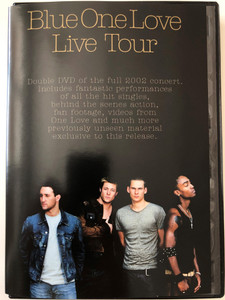 Blue - One Love DVD 2003 Live Tour / Double DVD of the full 2002 concert / 2DVD - Filmed live at Sheffield Arena / Virgin Records (724349058996)