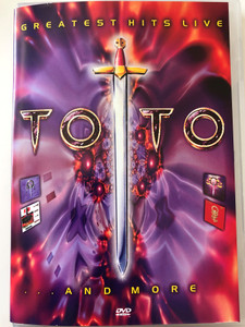 Greatest Hits Live DVD 2002 Toto and more / Toto Live Concert - Le Zenith, Paris, October 1990 / Extras: Interviews, Behind the Scenes / Sony Music Media (5099720180999)