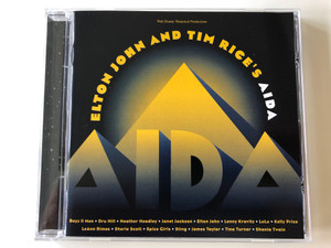 Elton John And Tim Rice – Aida / Boyz II Men, Dru Hill, Heather Headley, Janet Jackson, Elton John, Lenny Kravitz, LuLu, Kelly Price, LeAnn Rimes, Sherie Scott / Walt Disney Theatrical Productions / PolyGram Records Audio CD 1999 / 524 651-2