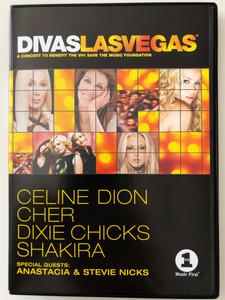 Divas Las Vegas DVD 2002 / A Concert to Benefit the VH1 / Save the Music Foundation / Celine Dion, Cher, Dixie Chicks, Shakira / Epic Music Video (5099750878194)
