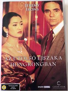 Chinese Box DVD 1997 Az Utolsó éjszaka Hongkongban / Directed by Wayne Wang / Starring: Jeremy Irons, Gong Li, Maggie Cheung, Michael Hui (5999544702936)
