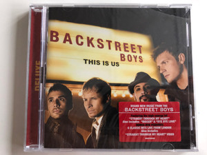Backstreet Boys ‎– This Is Us / Featuring the high-energy hit ''Straight Through My Heart'', Also includes ''Bigger'' & ''Bye Bye Love'' / Bonus DVD Features - 6 Classic Hits Live From London / Sony Music ‎Audio + DVD CD 2009 / 88697580882
