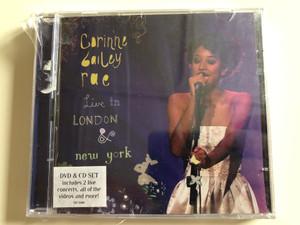 Corinne Bailey Rae – Live In London & New York / EMI Records Audio + DVD CD 2007 / 387 5089