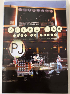 Pearl Jam DVD 2010 Live in Texas / Austin City Limits / Special Guest: Ben Harper / Just Breathe, Johnny Guitar, Do the Evolution, Porch / Rock Heroes (4011778603207)