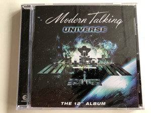 Modern Talking ‎– Universe / The 12th Album / BMG Berlin Musik ‎Audio CD 2003 / 82876 51078 2
