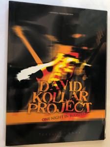 David Kollar Project DVD 2009 One Night in Budapest / Directed & Edited by Balázs Tokaji / David Kollar - Guitar, Gergő Baranyi Bass, Ádám Markó Drums / Hevhetia (8588002496592)