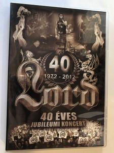 Lord 40 - 1972-2012 DVD 2012 40 éves jubileumi koncert 2012. Szeptember 15. Budapest, Petőfi Csarnok / Hammer Records (5999505137562)