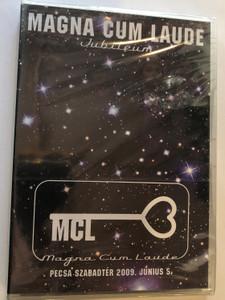 Magna Cum Laude Jubileum DVD 2009 Pecsa Szabadtér 2009. Június 5. / Nóra, Hatalmas a szíved, Régi sziget, Se kép se hang / Magneoton (5011865648420)