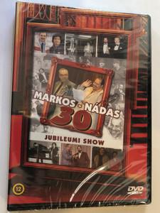 Markos - Nádas 30 DVD Jubieumi show / Hungarian Comedy Show - 30th Anniversary / Tom-Tom Records 2014 / TTDVD214 / Markos György - Nádas György (5999524962336)