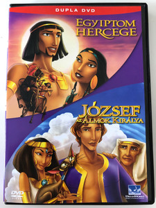 The Prince of Egypt 1998 / Joseph - King of Dreams 2DVD 2000 / Egyiptom Hercege - József az álmok királya / Directed by Brenda Chapman, Steve Hickner, Simon Wells / (5050583009483)