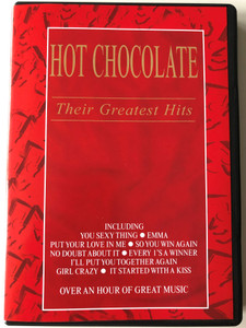 Hot Chocolate DVD 2000 Their Greatest Hits / Including Emma, So you win again, It started with a kiss - Over an hour of great music / EMI Records / Produced by Mickie Most (724349241398)