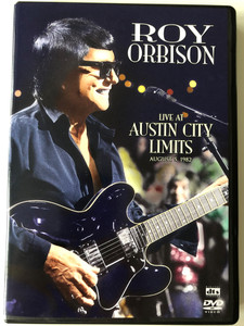Roy Orbison DVD 2000 - Live At Austin City Limits - August 5. 1982 / Directed by Gary Menotti / Only the lonely, Lana, Candy Man, Hound Dog Man / Bonus: Documentary, Photo Gallery, Song lyrics (5034504930070)