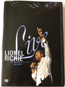 Lionel Richie Live DVD 2007 His greatest hits and more / Just for you, Stuck on you, Hello, Say you, say me / The Ultimate Lionel Richie Concert Experience / Shot in HD at Bercy Arena Paris (602517451667)