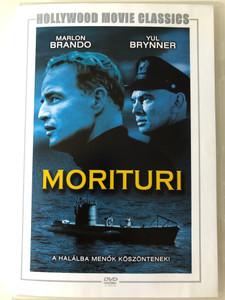 Morituri DVD 1965 / Directed by Bernhard Wicki / Starring: Marlon Brando, Yul Brynner, Janet Margolin, Trevor Howard (5999546334739)