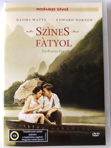 The Painted Veil DVD 2006 Színes Fátyol / Directed by John Curran / Starring: Naomi Watts, Edward Norton, Liev Schreiber, Toby Jones (5996357343226)