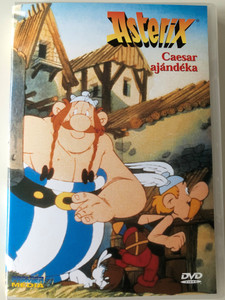 Asterix - Cézár ajándéka - Astérix et la surprise de César DVD 1985 Asterix Versus Caesar / Directed by Paul & Gaetan Brizzi / Starring: Roger Carel, Pierre Tornade, Billy Kearns, Pierre Mondy (5998282102664)