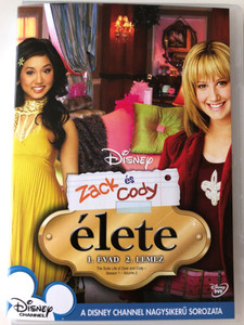 The Suite Life of Zack & Cody - Season 1 - Vol 2. DVD 2005 Zack és Cody Élete 1. Évad 2 lemez / Created by Danny Kallis, Jim Geoghan / Starring: Cole Sprouse, Dylan Sprouse, Brenda Song, Ashley Tisdale, Kim Rhodes / Disney's Big Hit Sitcom (5996255731514)