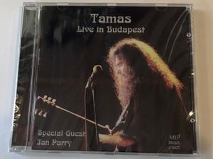 Tamas – Live In Budapest / Méga Audio CD 1998 / 5998318760721