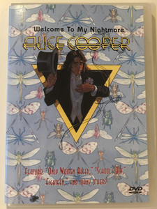 Alice Cooper - Welcome to my nightmare DVD / Features Only Women Bleed, School's out, Eighteen and many others! / Eagle vision (4012050412883)