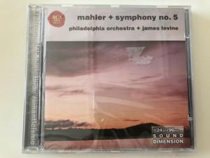 Mahler - Symphony No. 5 / Philadelphia Orchestra, James Levine / BMG Entertainment Audio CD 2001 Stereo / 74321 68011 2