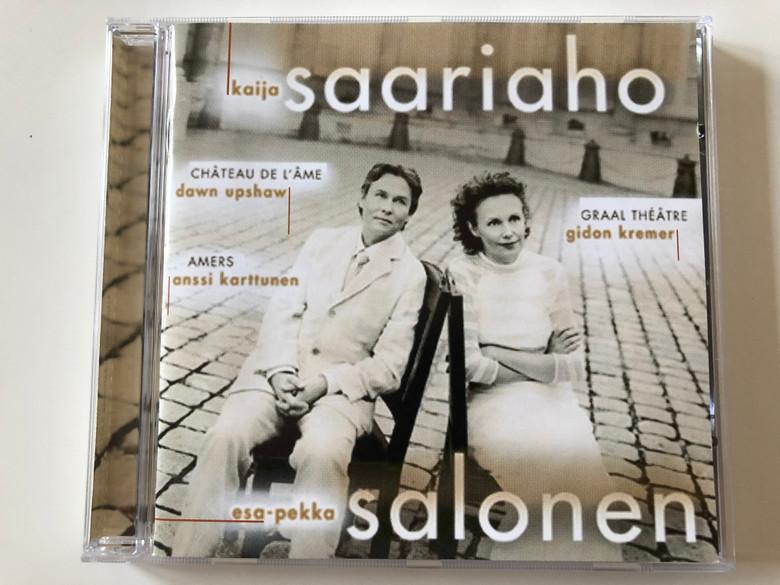 Kaija Saariaho - Château De L'Âme, Graal Théâtre, Amers / Esa-Pekka Salonen / Sony Classical Audio CD 2001 / SK 60817