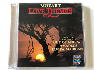 Mozart – Love Themes / Music As Featured In Out Of Africa / Amadeus, Elvira Madigan / RCA Red Seal Audio CD / RD 89902