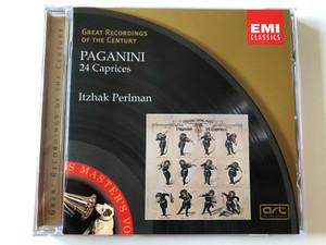 Paganini – 24 Caprices / Itzhak Perlman / Great Recordings Of The Century / EMI Classics Audio CD 2000 Stereo / 7243 5 67237 2 6