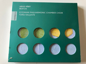 Arvo Pärt - Beatus / Estonian Philharmonic Chamber Choir, Tõnu Kaljuste / Virgin Classics Audio CD 1997 / 724356220522