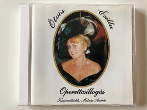 Ötvös Csilla - Operettcsillogas / Kozremukodik: Molnar Andras / Ötvös Csilla Audio CD 1996 / SWCD 6105