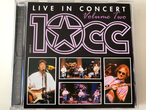Live In Concert - Volume Two - 10cc / QED Audio CD / QED019