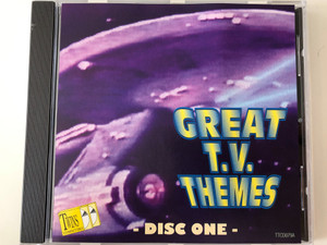 Great T.V. Themes - Disc One / Tring International PLC ‎Audio CD / TTCD079A