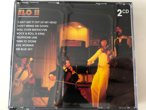 ELO II - Can't Get It Out Of My Head, Don't Bring Me Down, Roll Over Beethoven, Rock & Roll Is King, Telephone Line, Turn To Stone, Evil Woman, Mr. Blue Sky / Weton-Wesgram 2x Audio CD 2001 / KBOX 2100